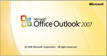 0 Office outlook 2007