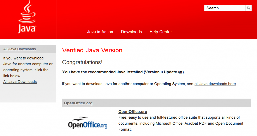 Java Download 1