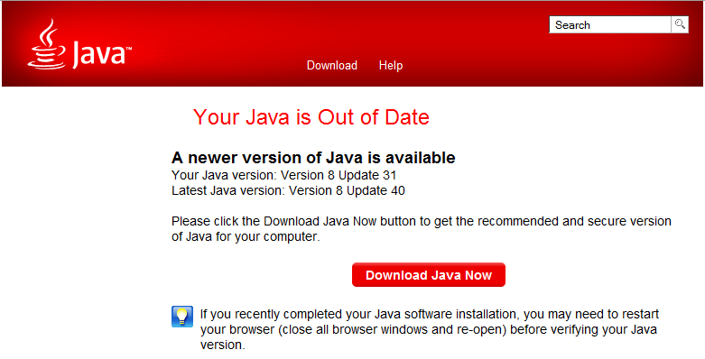 Java Download 2